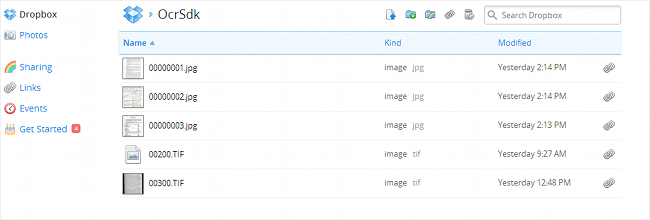 Put your images into a separate folder